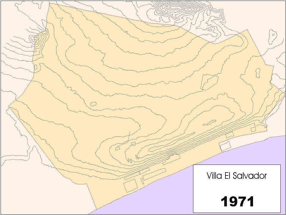 El salvador mapa de historia for Plano de villa el salvador