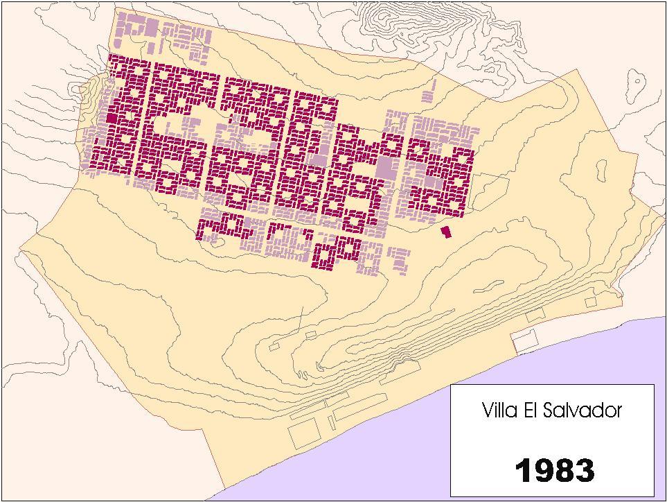 Historia de una ciudad villa el salvador for Plano de villa el salvador