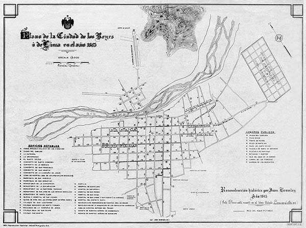 Planos de lima 1613 2000 for Plano de villa el salvador